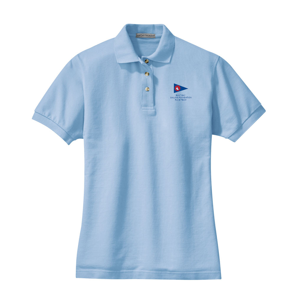 East Bay Sailing Foundation - Women's Race Team Cotton Polo