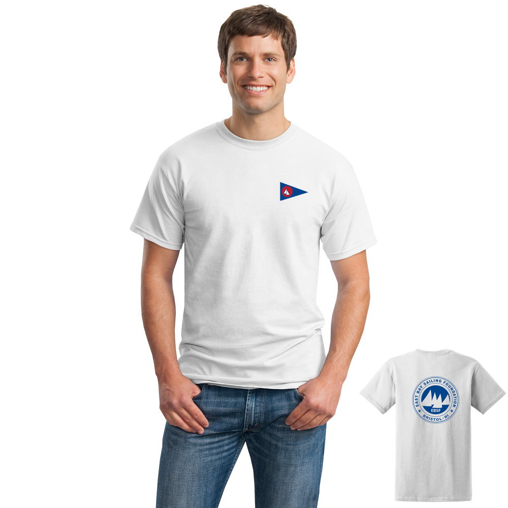 East Bay Sailing Foundation - Men's Short Sleeve Cotton Tee