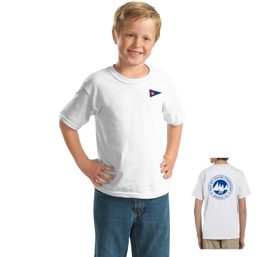 East Bay Sailing Foundation - Youth Short Sleeve Cotton Tee