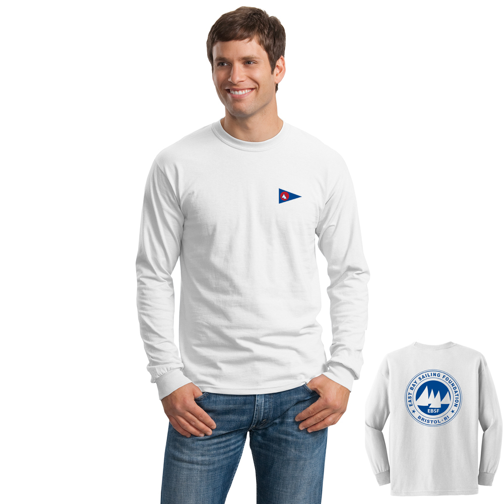 East Bay Sailing Foundation - Men's Long Sleeve Cotton Tee
