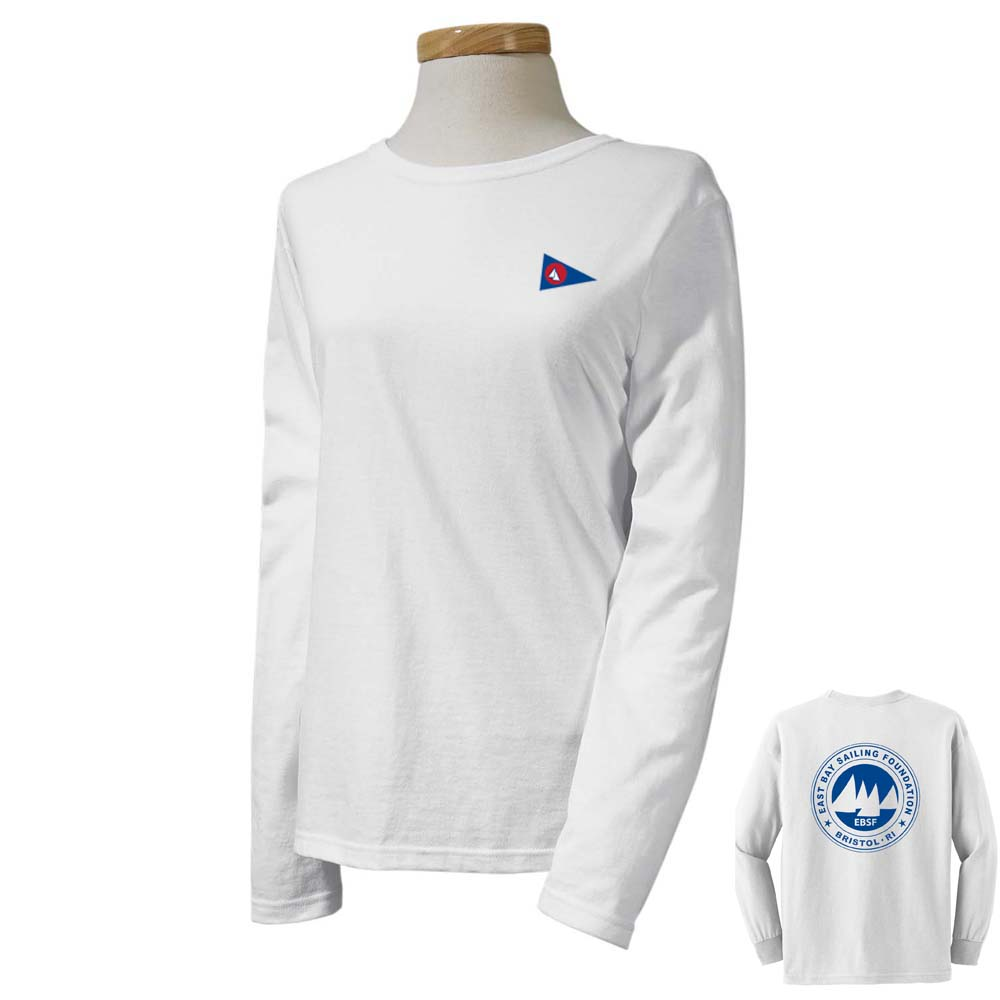East Bay Sailing Foundation - Women's Long Sleeve Cotton Tee