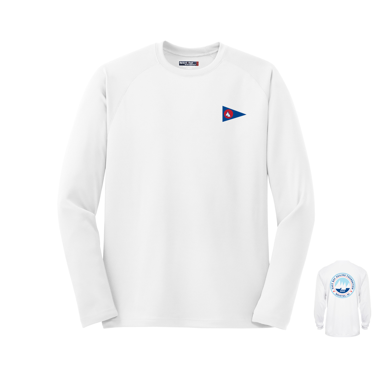 East Bay Sailing Foundation - Men's Long Sleeve Tech Tee