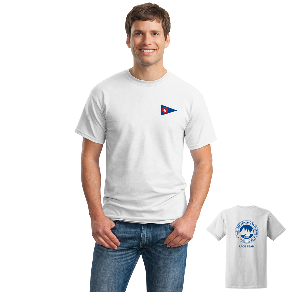 East Bay Sailing Foundation - Men's Short Sleeve Race Team Cotton Tee