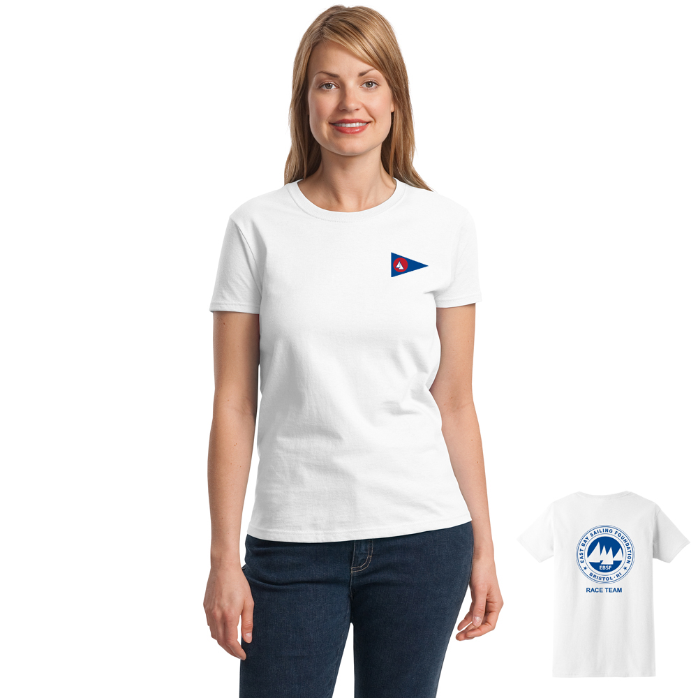 East Bay Sailing Foundation - Women's Race Team Short Sleeve Cotton Tee