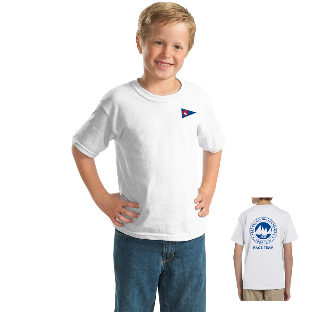 East Bay Sailing Foundation - Youth Race Team Short Sleeve Cotton Tee