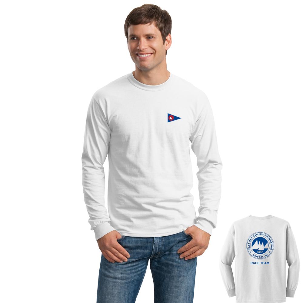 East Bay Sailing Foundation - Men's Race Team Long Sleeve Cotton Tee