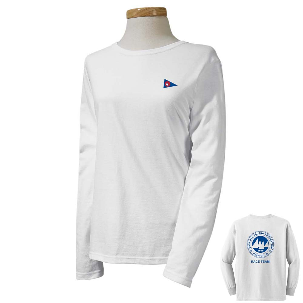 East Bay Sailing Foundation - Women's Race Team Long Sleeve Cotton Tee