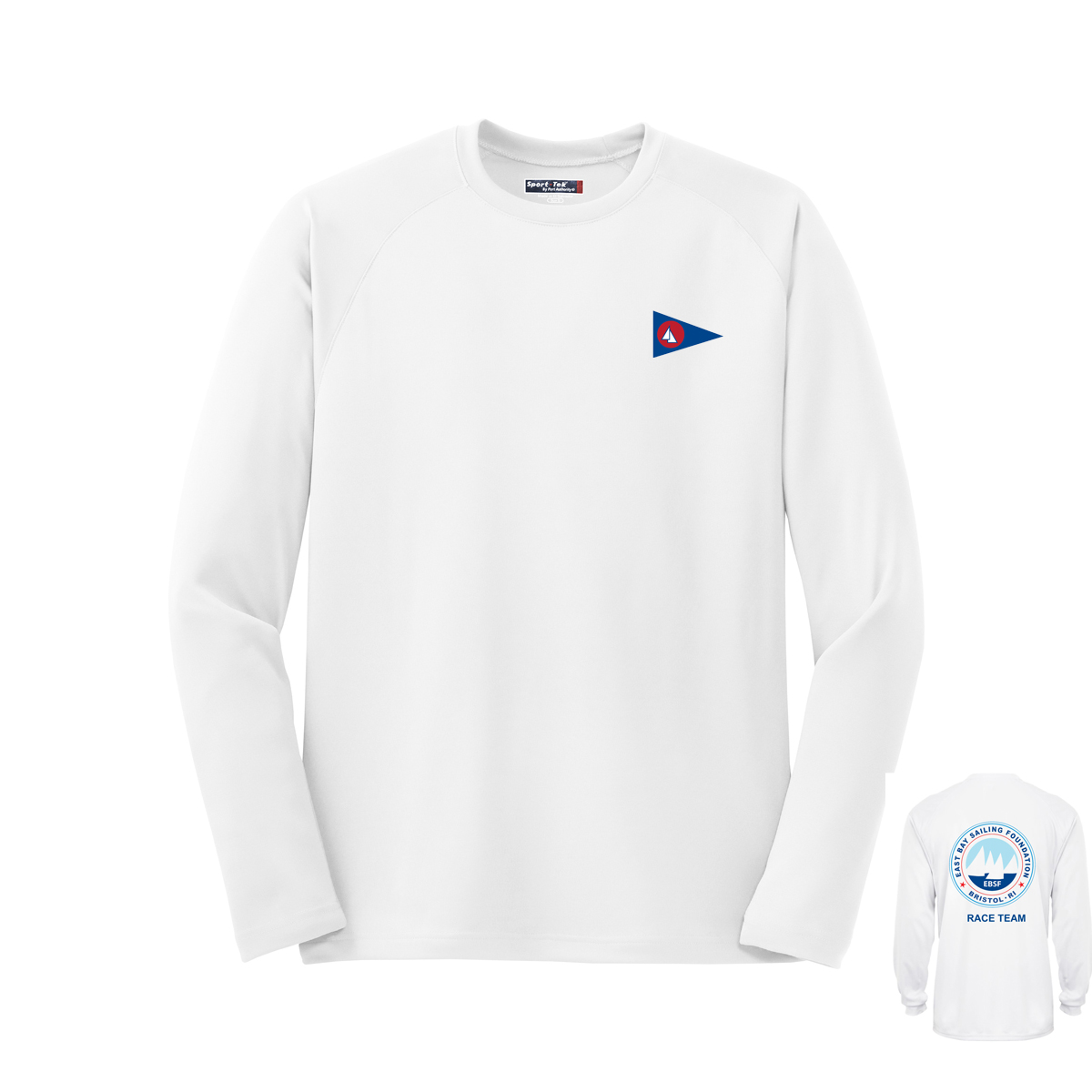 East Bay Sailing Foundation - Men's Race Team Long Sleeve Tech Tee