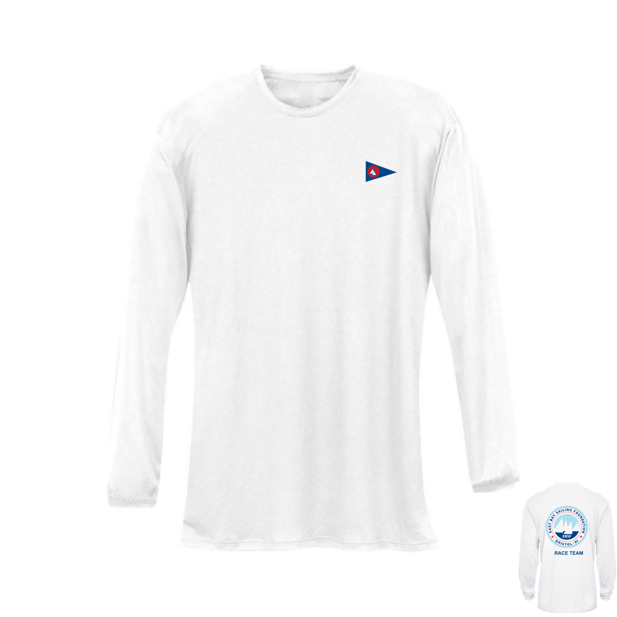 East Bay Sailing Foundation - Women's Race Team Long Sleeve Tech Tee