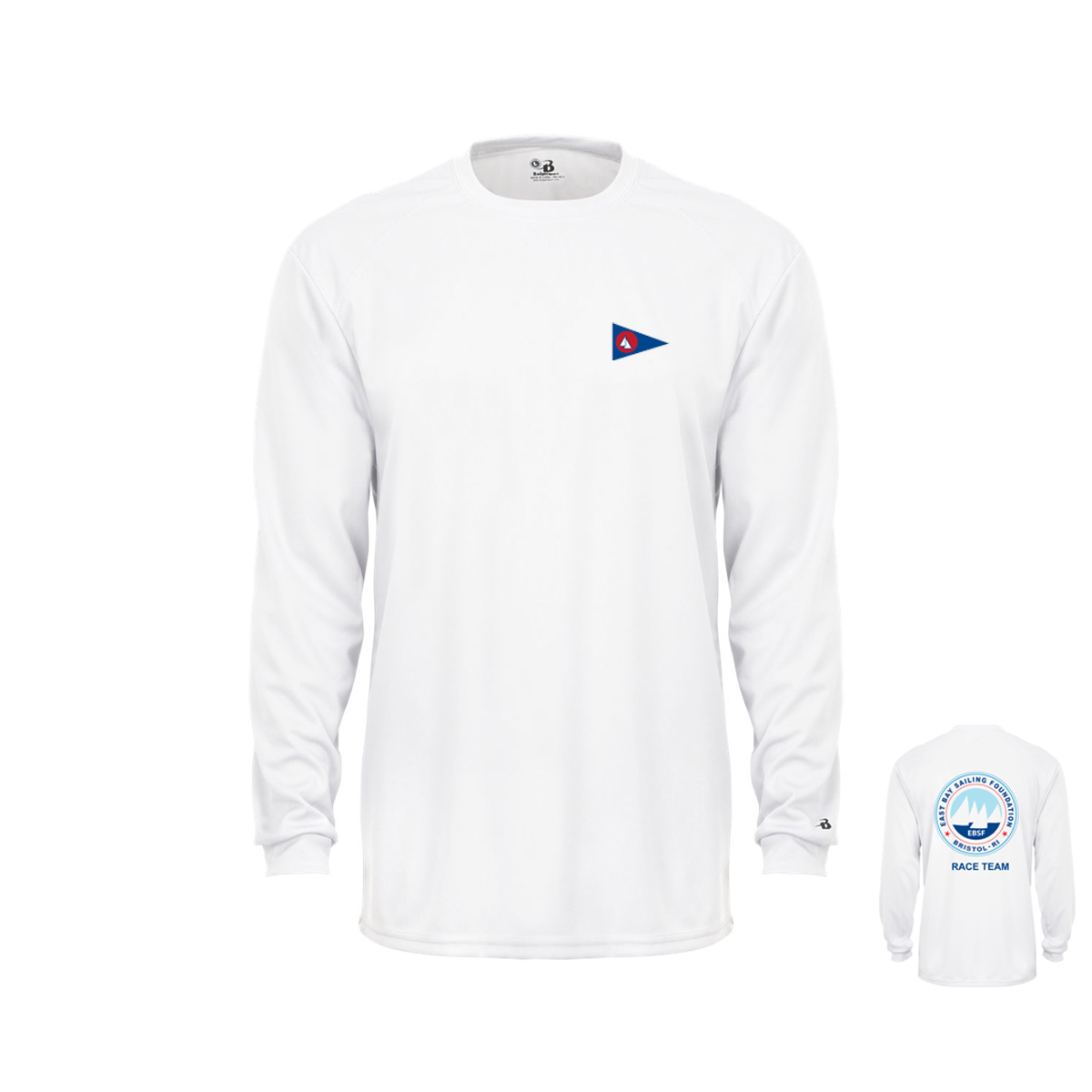 East Bay Sailing Foundation - Youth Race Team Long Sleeve Tech Tee