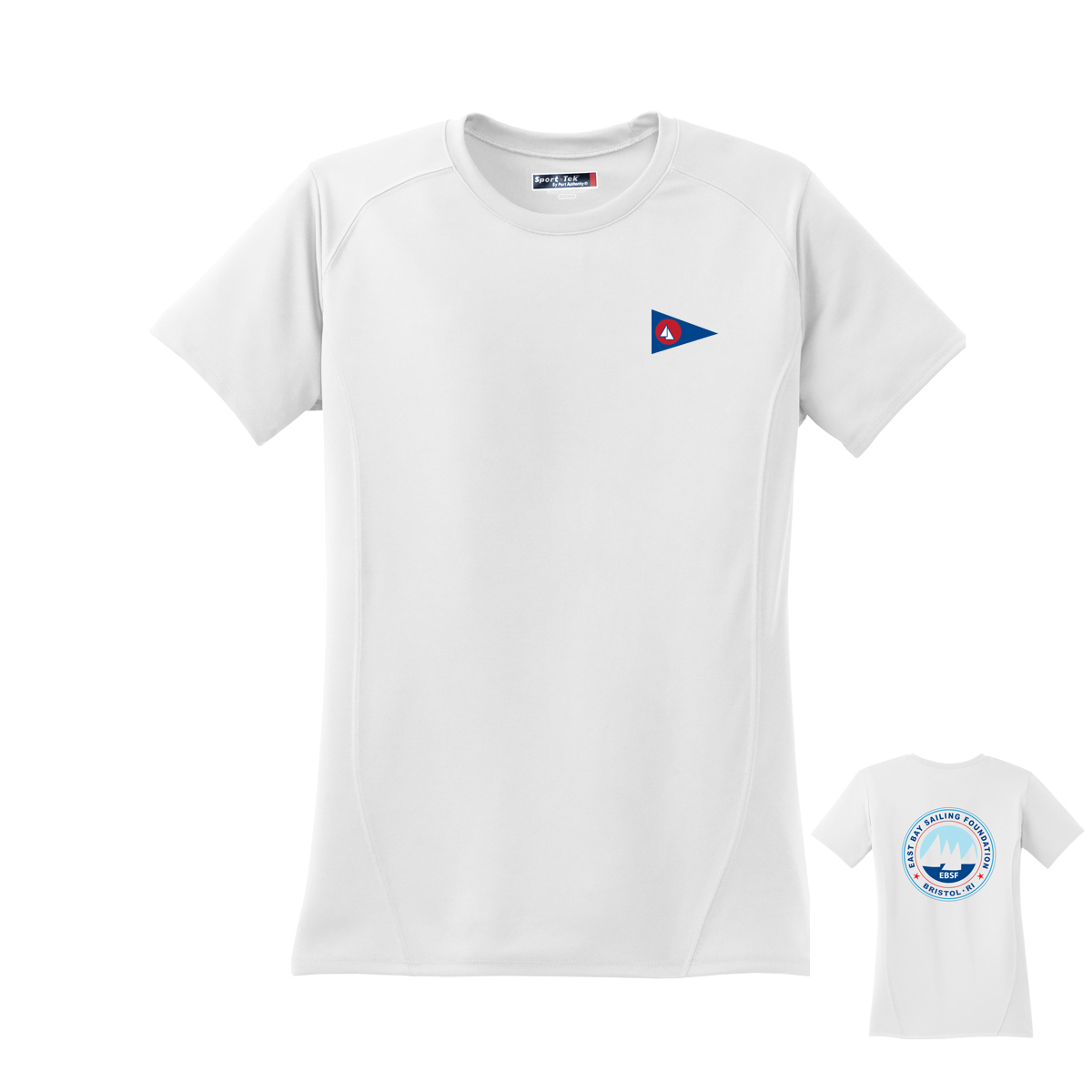 East Bay Sailing Foundation - Women's Short Sleeve Tech Tee