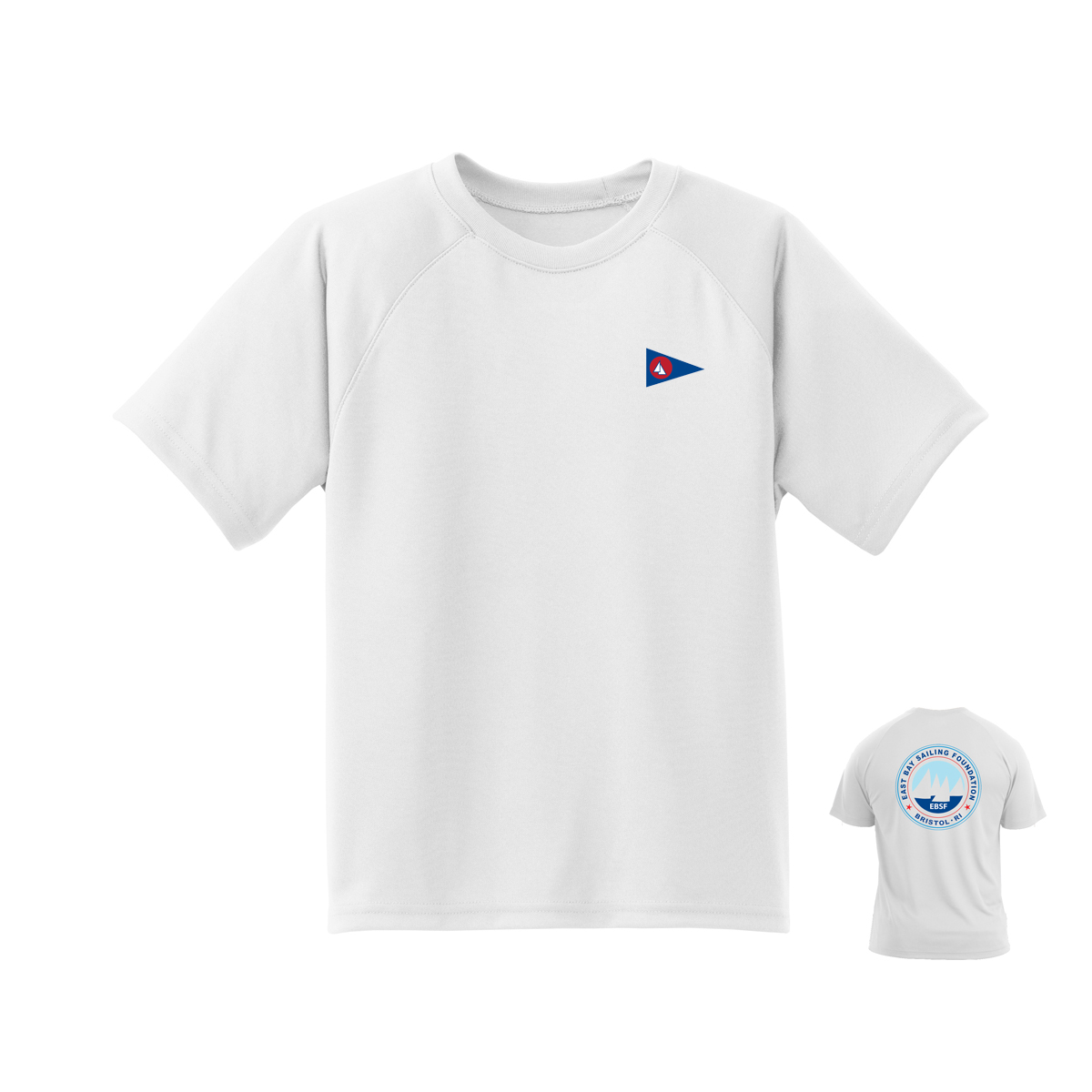 East Bay Sailing Foundation - Youth Short Sleeve Tech Tee