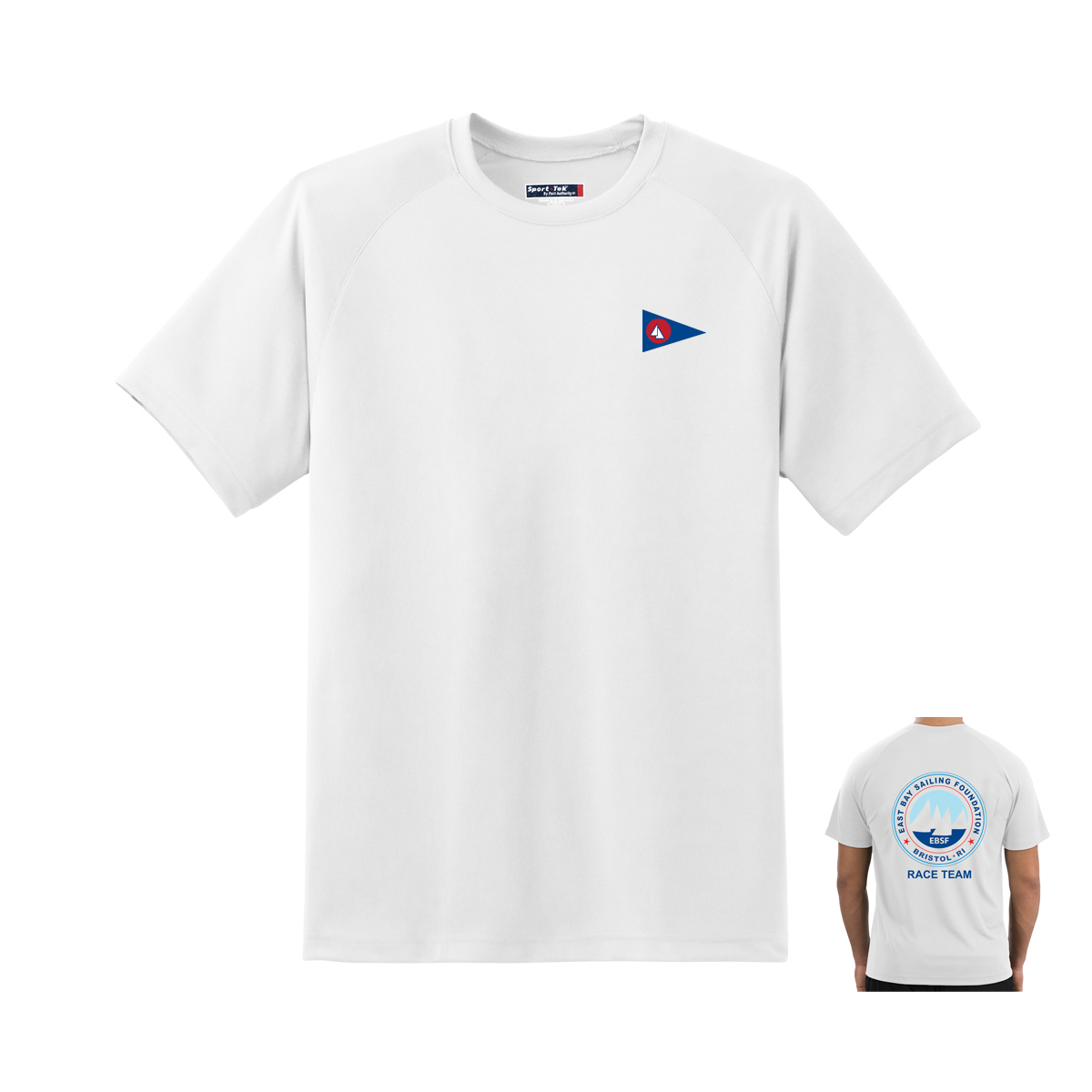 East Bay Sailing Foundation - Men's Race Team Short Sleeve Tech Tee