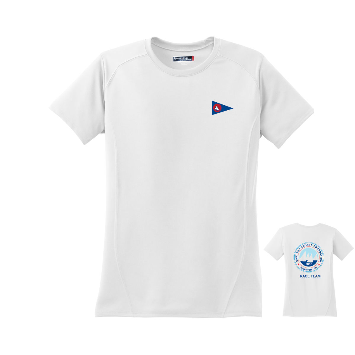 East Bay Sailing Foundation - Women's Race Team Short Sleeve Tech Tee