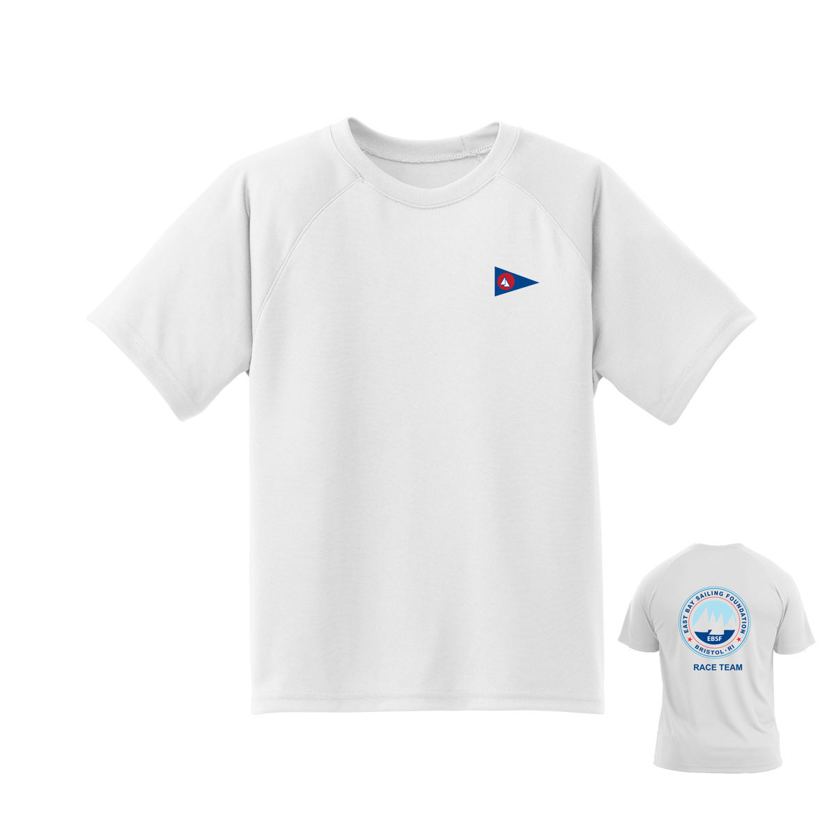 East Bay Sailing Foundation - Youth Race Team Short Sleeve Tech Tee
