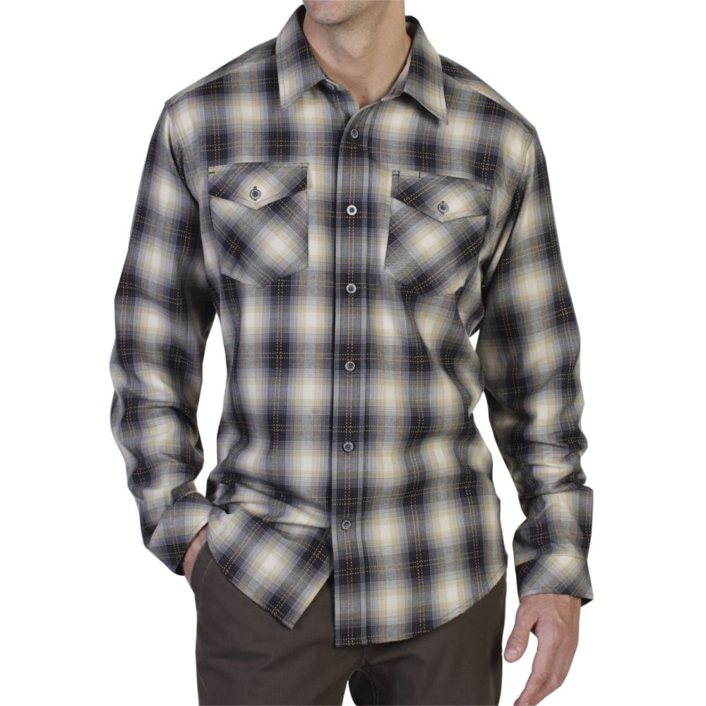 EXOFFICIO TUCANNON FLANNEL LONG SLEEVE (1001-1877)
