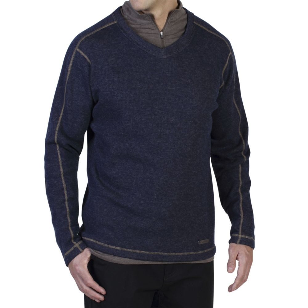 EXOFFICIO RUVIDO V NECK SWEATER (1015-1880)