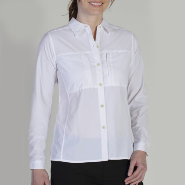 EXOFFICIO WOMEN'S DRYFLYLITE LONG SLEEVE SHIRT (2001-2086)