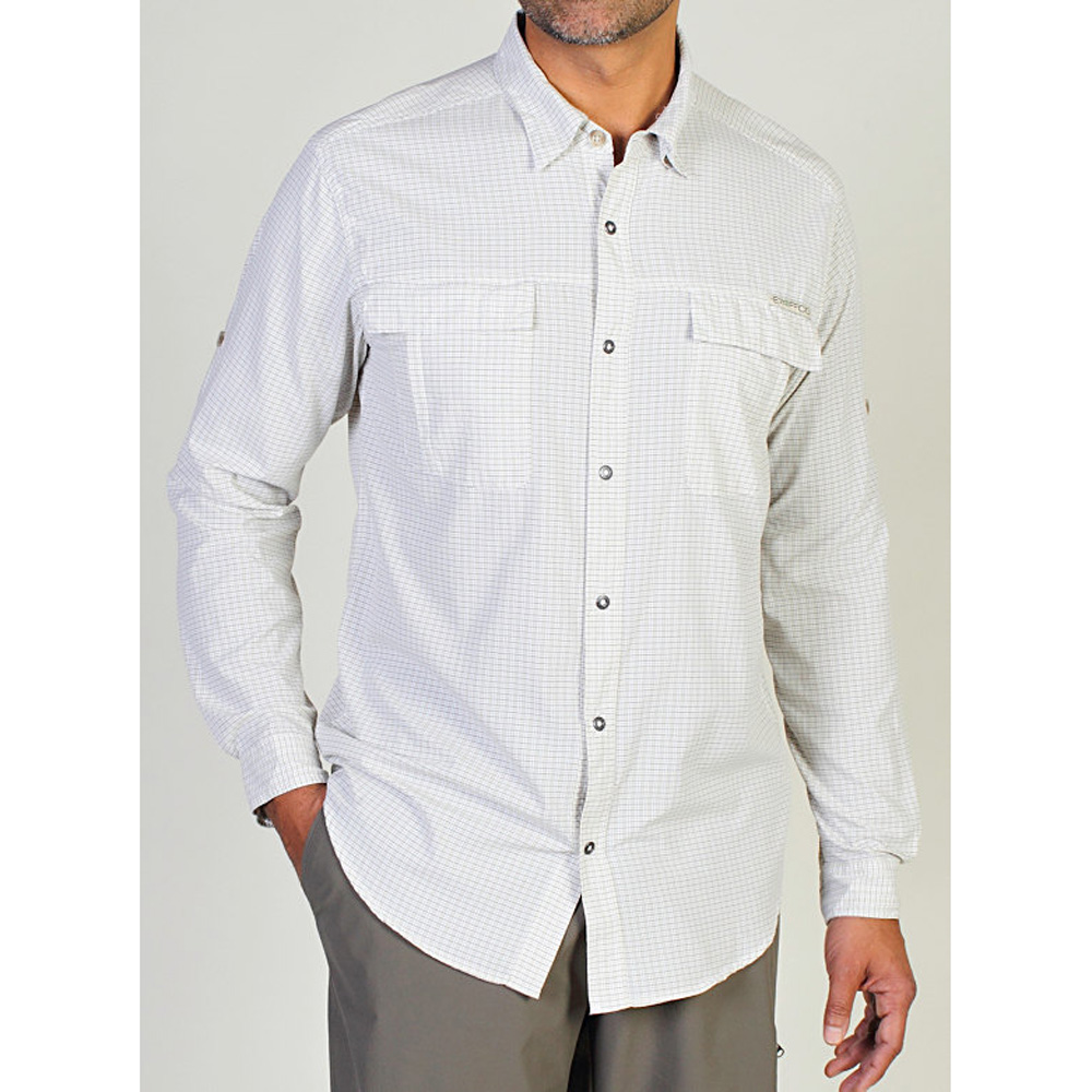 EXOFFICIO MENS BA HALO CHECK L/S SHIRT (2317)