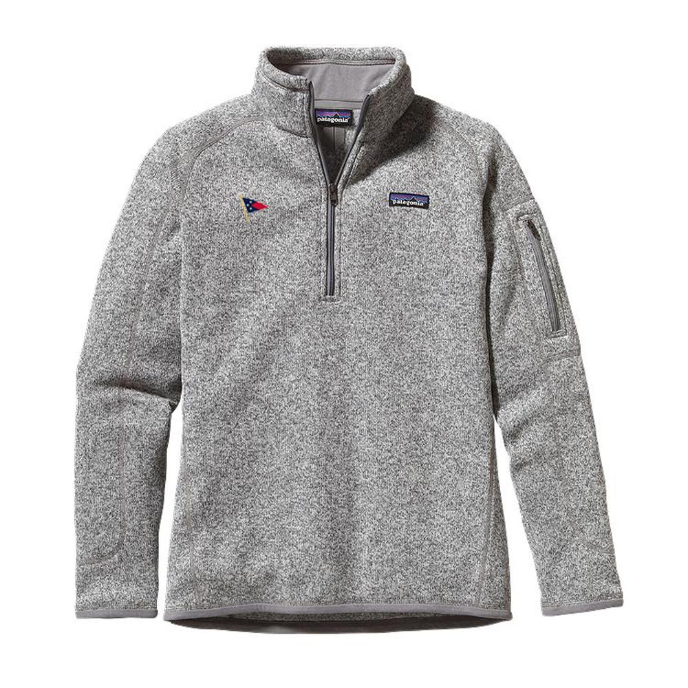 Edgartown Yacht Club - Women's Patagonia Better Sweater 1/4 Zip
