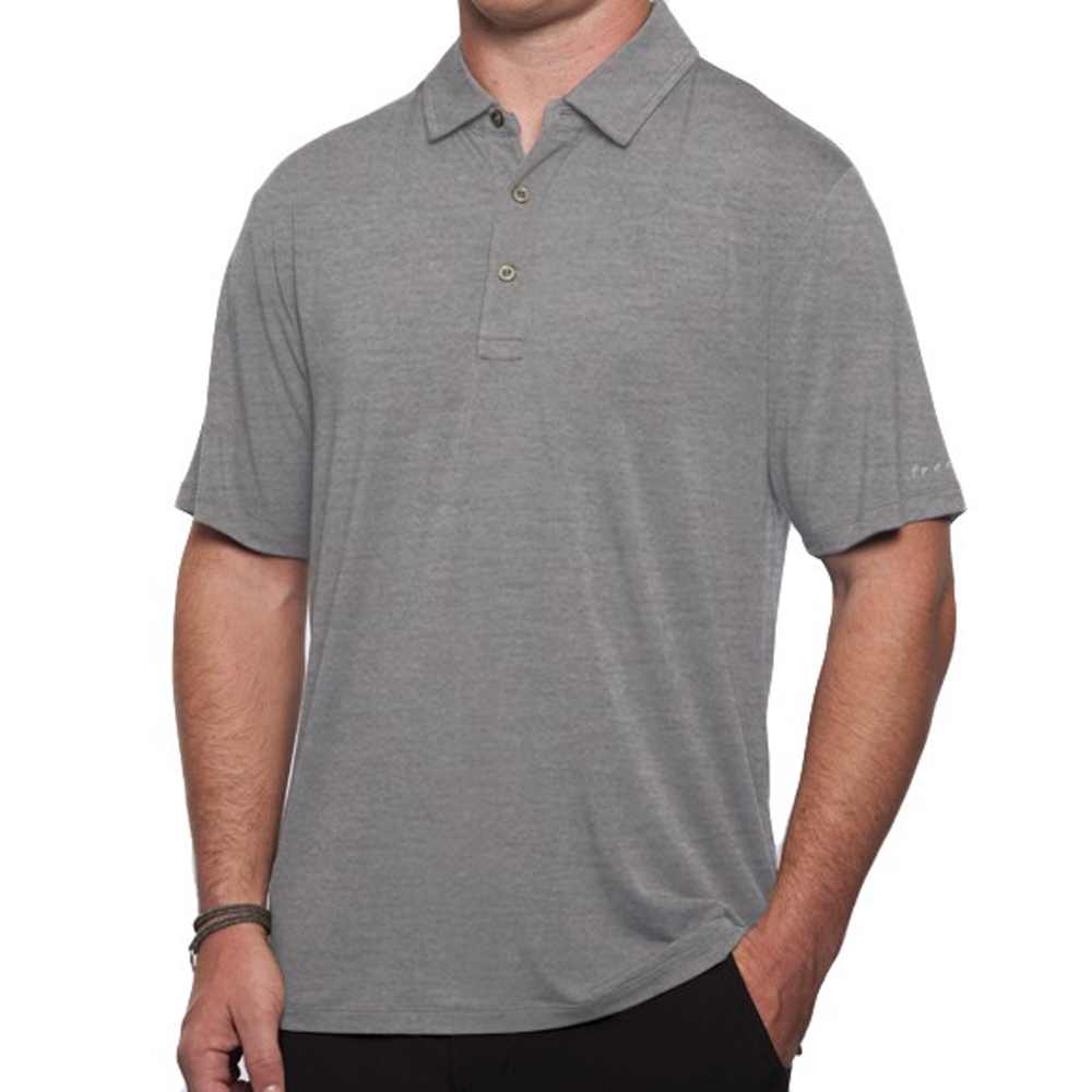 FREE FLY APPAREL- MENS BAMBOO POLO (005)