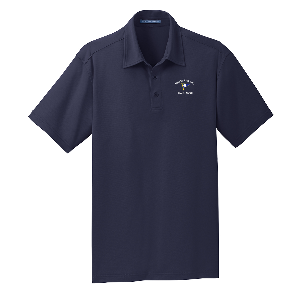 Fishers Island Yacht Club - Men's Tech Polo