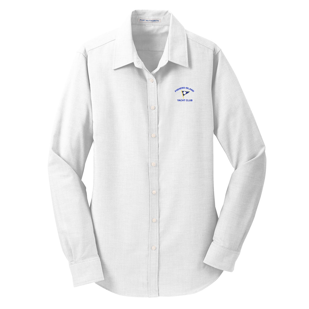 Fishers Island Yacht Club - Women's Oxford Shirt