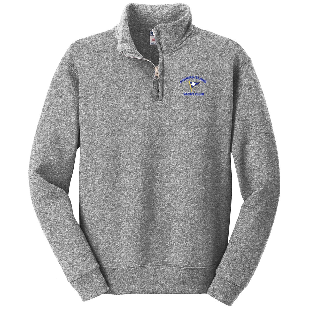 Fishers Island Yacht Club - Youth 1/4 Zip Sweatshirt
