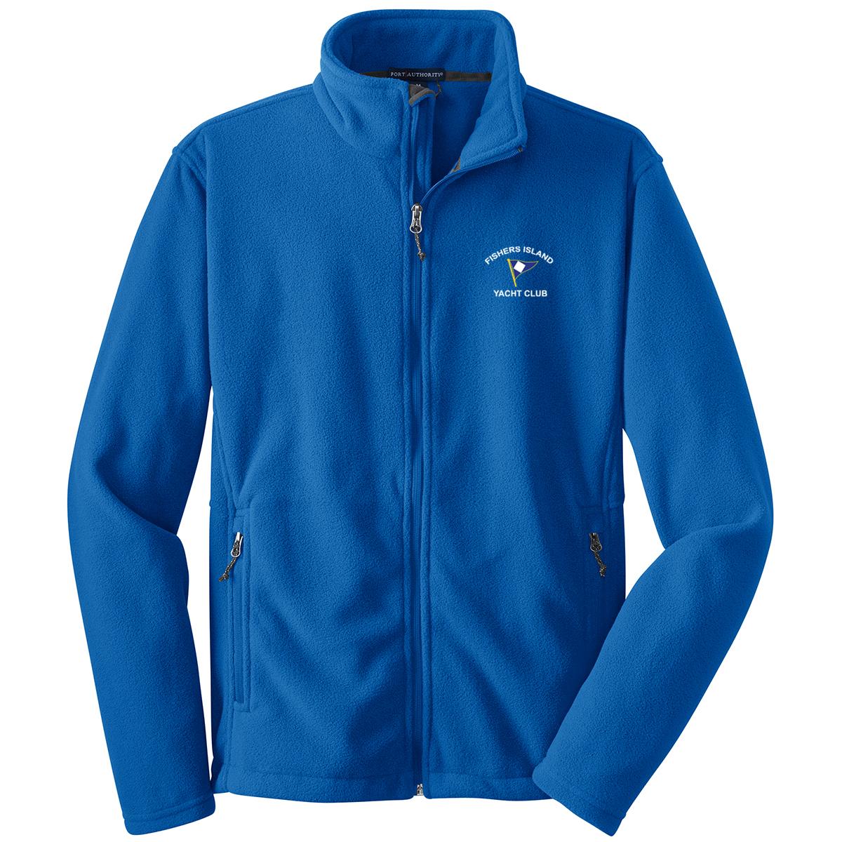 Fishers Island Yacht Club - Men's Full Zip Fleece Jacket
