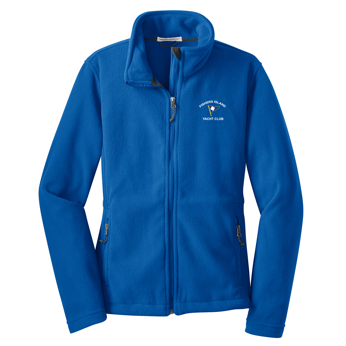 Fishers Island Yacht Club - Women's Full Zip Fleece Jacket