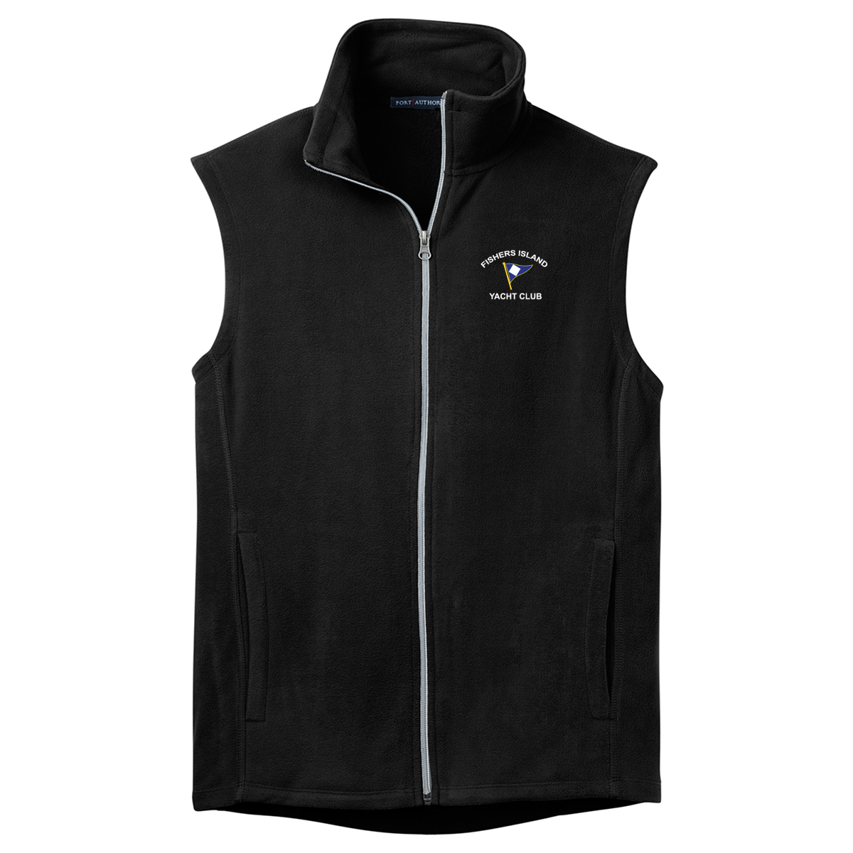 Fishers Island Yacht Club -  Men's Micro Fleece Vest