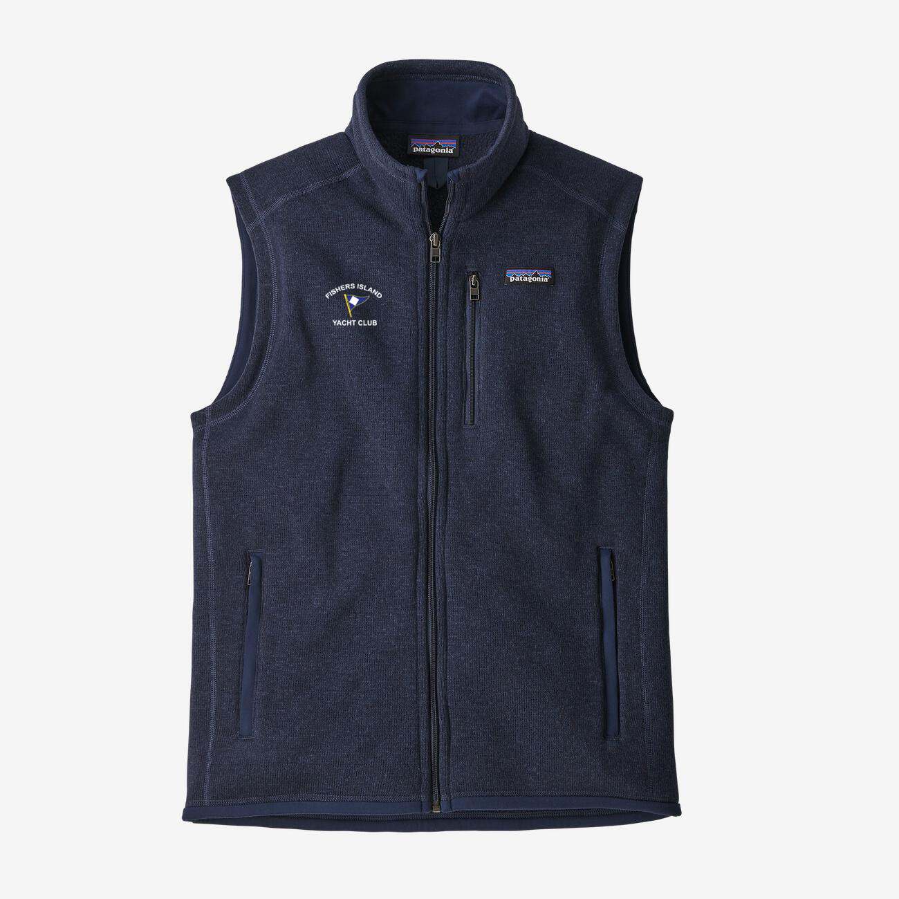 Fishers Island Yacht Club - Men's Patagonia Better Sweater Vest
