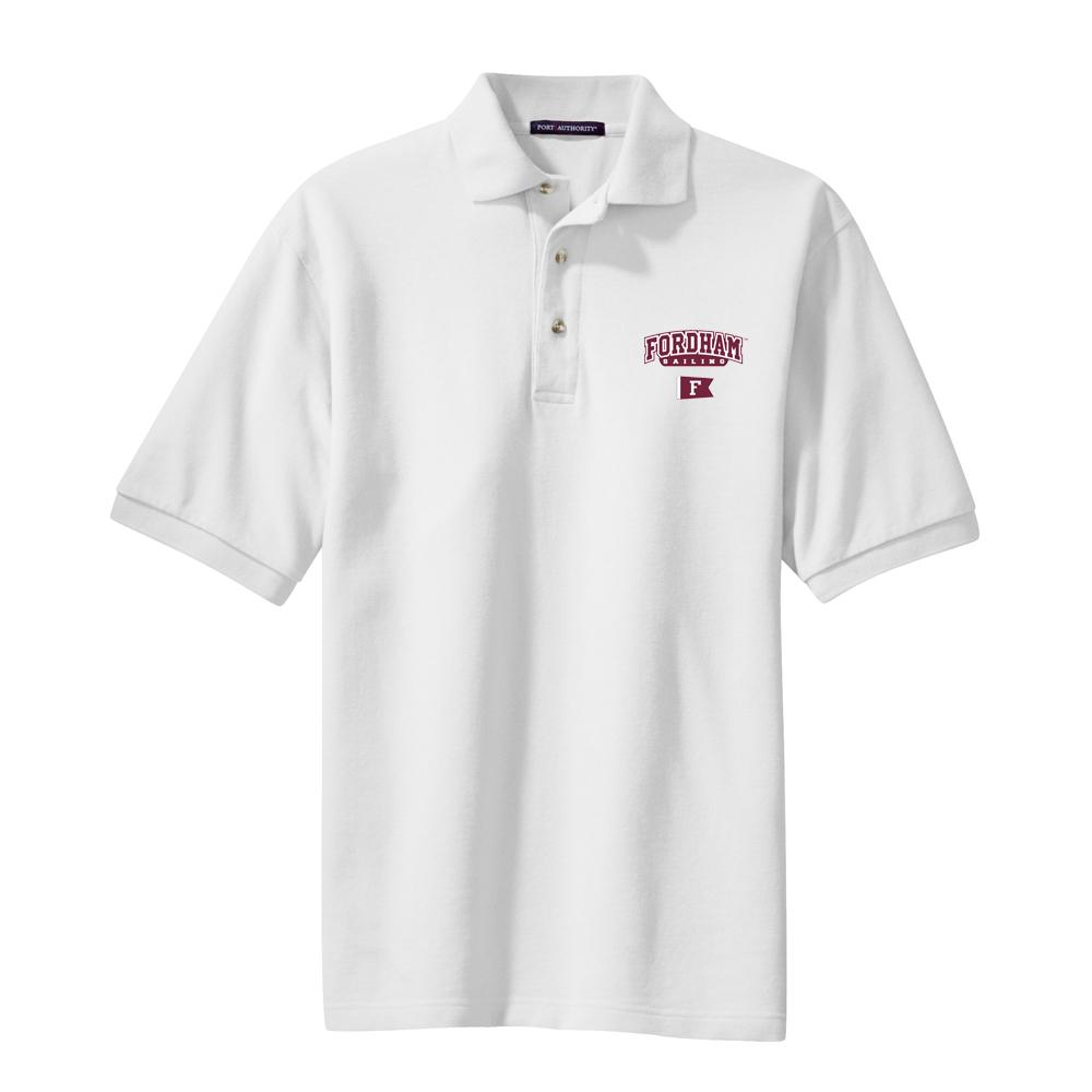 Fordham University Sailing - Men's Cotton Polo