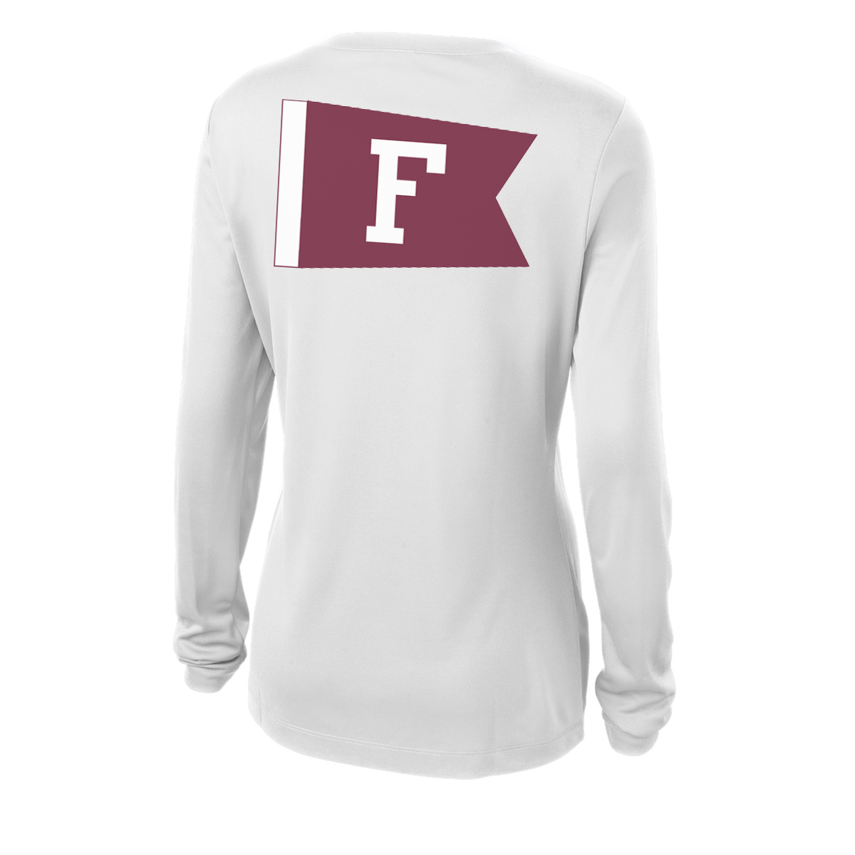 Fordham University Sailing - Women's Long Sleeve Tech Tee