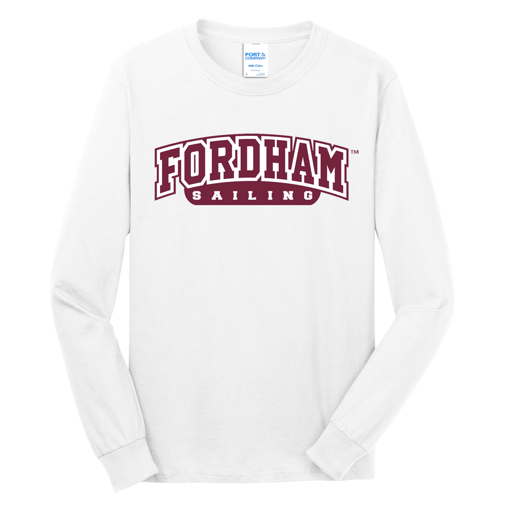 FORDHAM LONG SLEEVE T'SHIRT