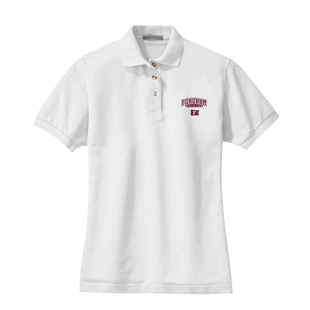 Fordham University Sailing - Women's Cotton Polo