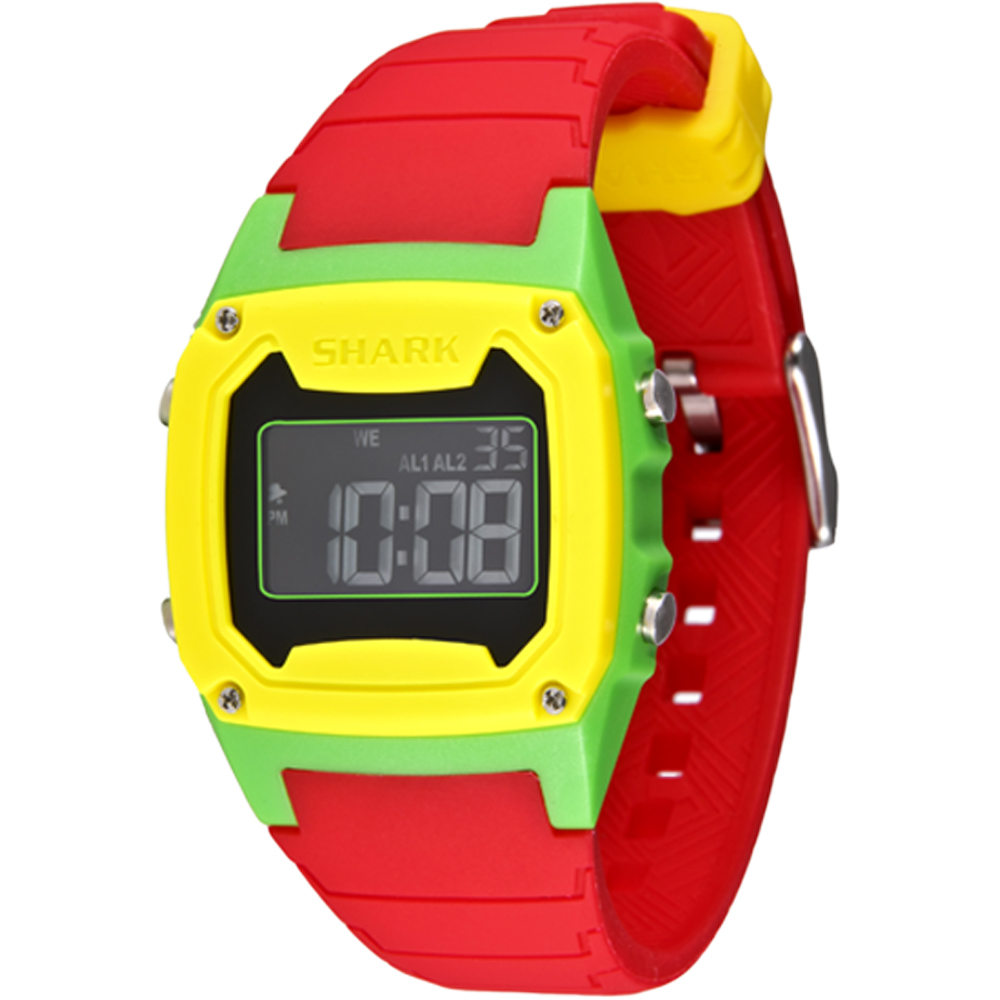 FREESTYLE SHARK CLASSIC RASTA RED/GRN/YEL (101807)