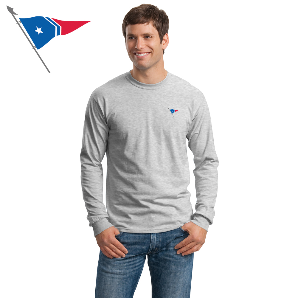 Great Harbor Yacht Club - Men's Long Sleeve Cotton Tee
