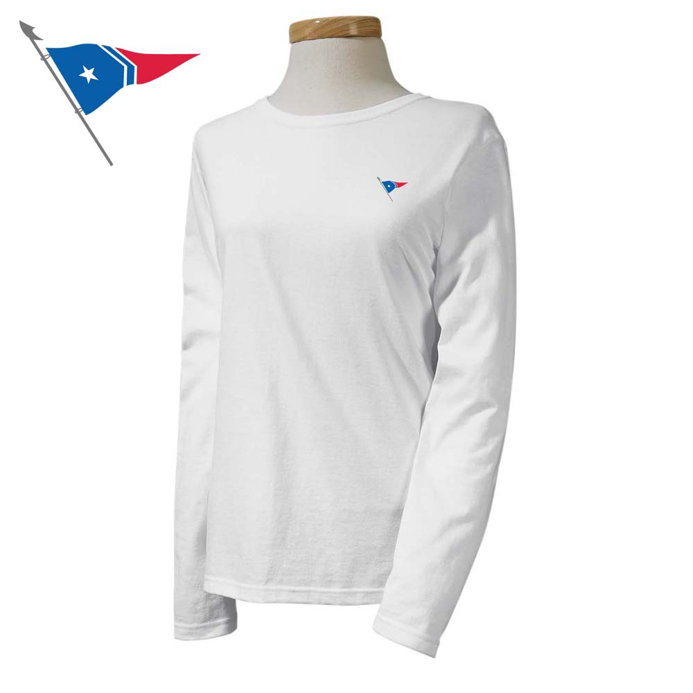 Great Harbor Yacht Club - Women's Long Sleeve Cotton Tee