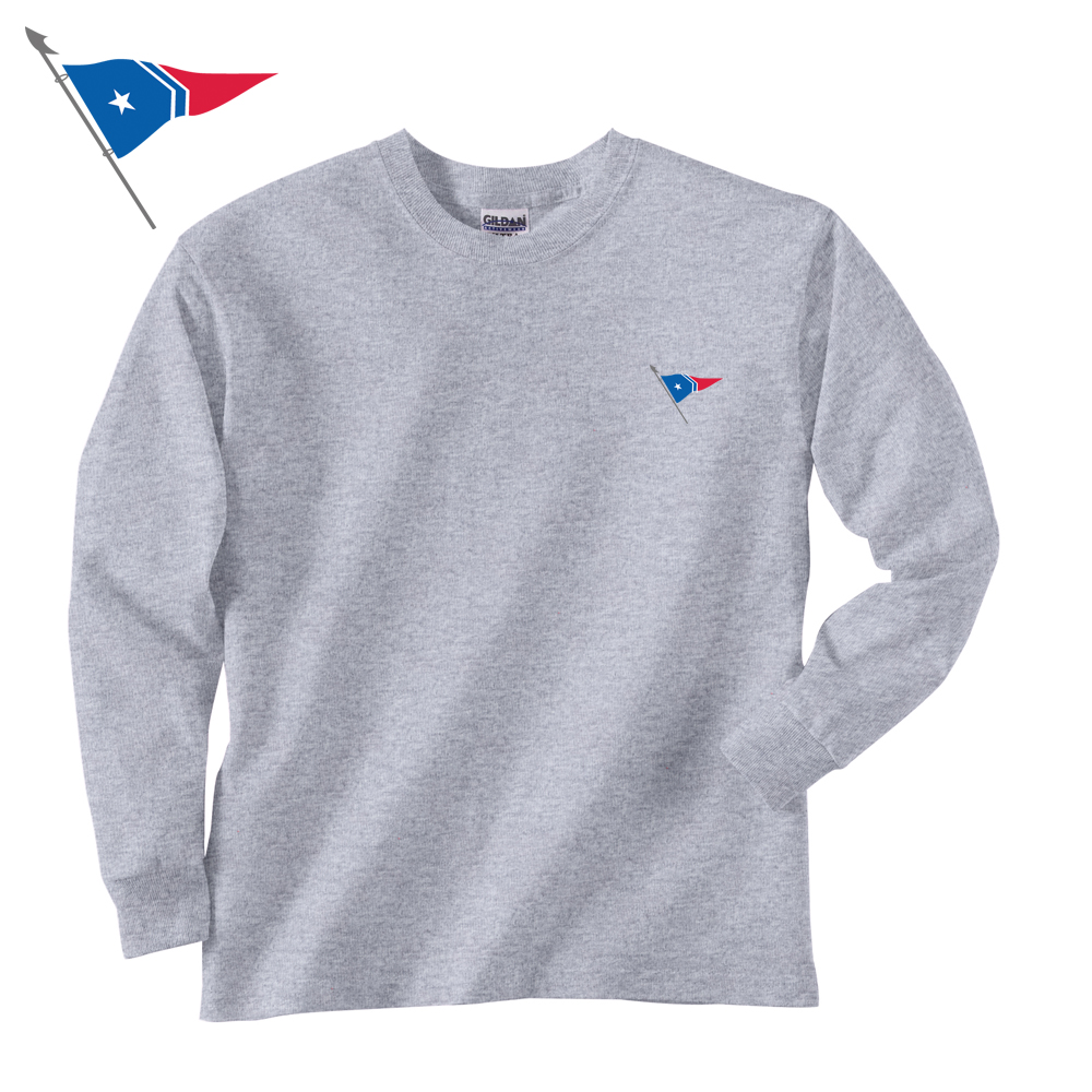Great Harbor Yacht Club - Youth Long Sleeve Cotton Tee