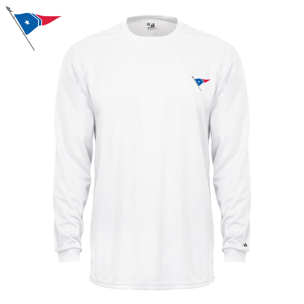 Great Harbor Yacht Club - Youth Long Sleeve Tech Tee