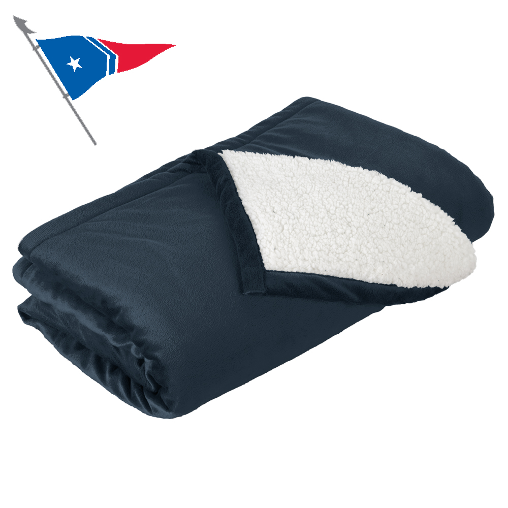 Great Harbor Yacht Club - Mountain Lodge Fleece Blanket