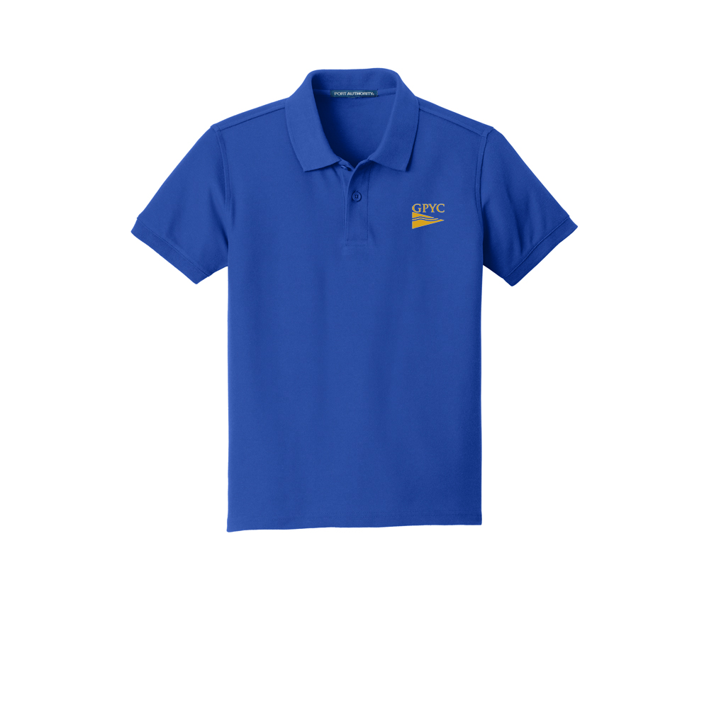 Great Pond Yacht Club - Youth Cotton Polo