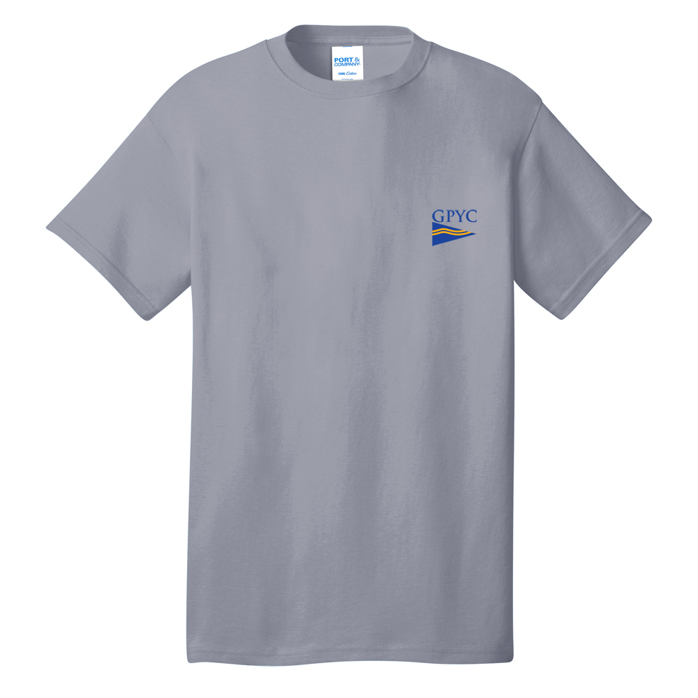 Great Pond Yacht Club - Men's Short Sleeve Cotton Tee