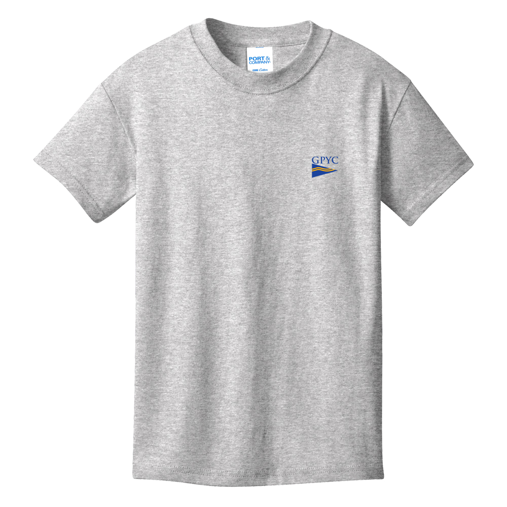 Great  Pond Yacht Club - Youth Short Sleeve Cotton Tee