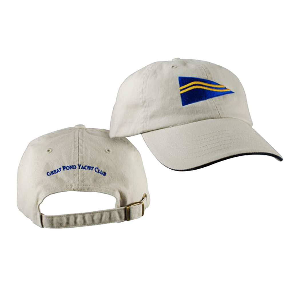 Great Pond Yacht Club - Adjustable Cap