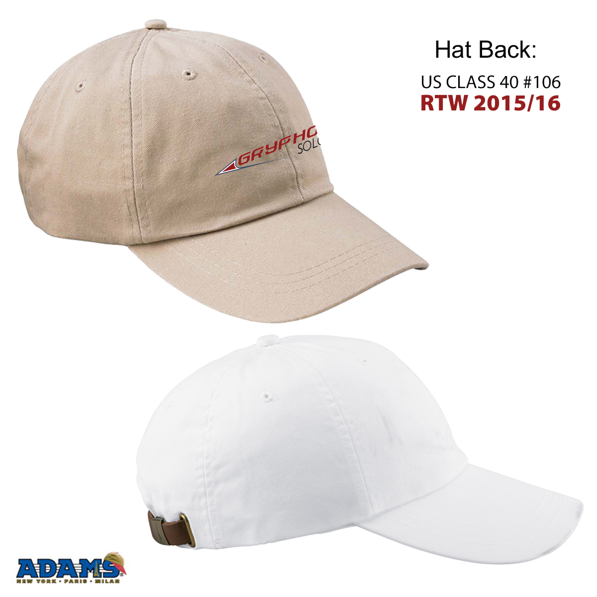 GRYPHON SOLO 2 - ADJUSTABLE CAP
