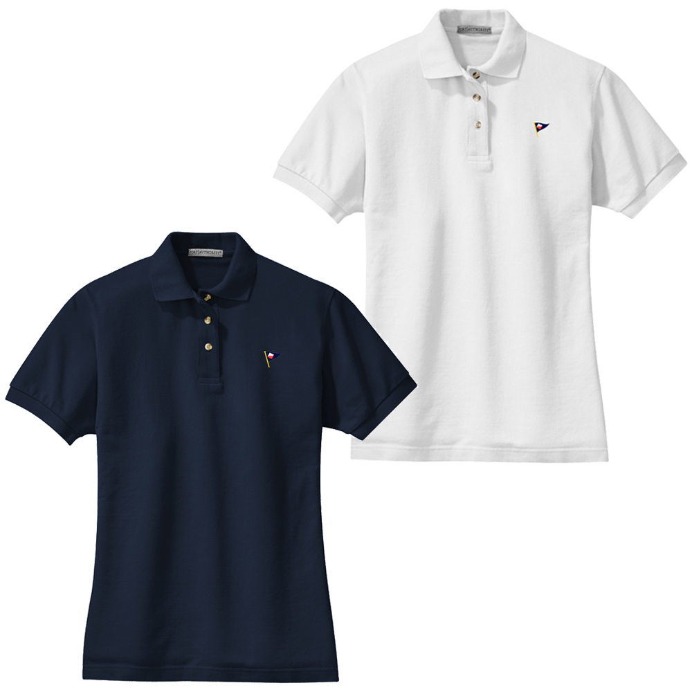 Guilford Yacht Club - Women's Cotton Polo