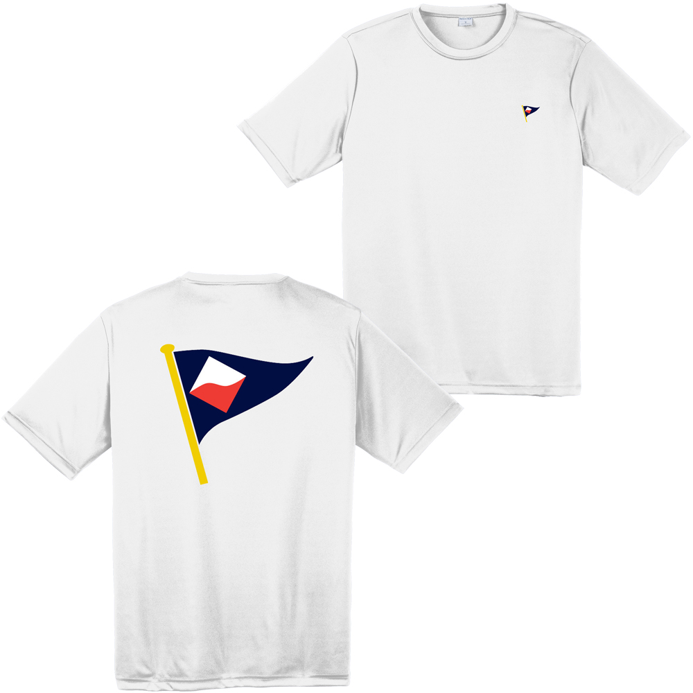 GUILFORD YACHT CLUB M'S S/S TECH TEE