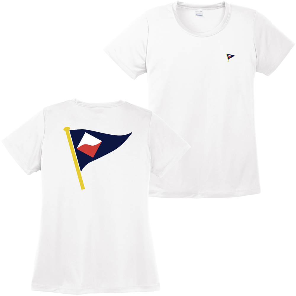 GUILFORD YACHT CLUB W'S S/S TECH TEE